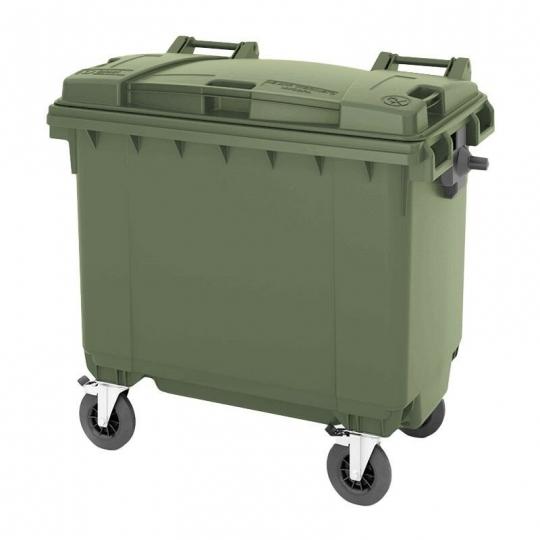 Мусорный Контейнер (БАК) 770 л. Зеленый